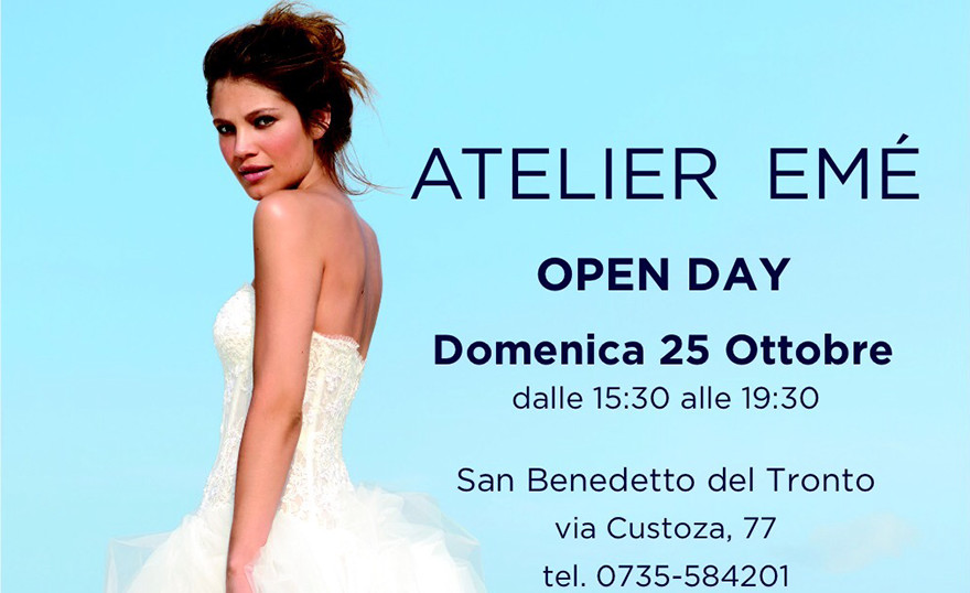 Open Day all'Ateler Emé