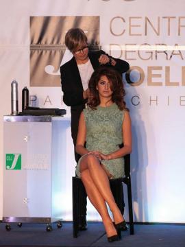 Tania Sartarelli alla Convention Nazionale 2015 del Centro Degradé Joelle